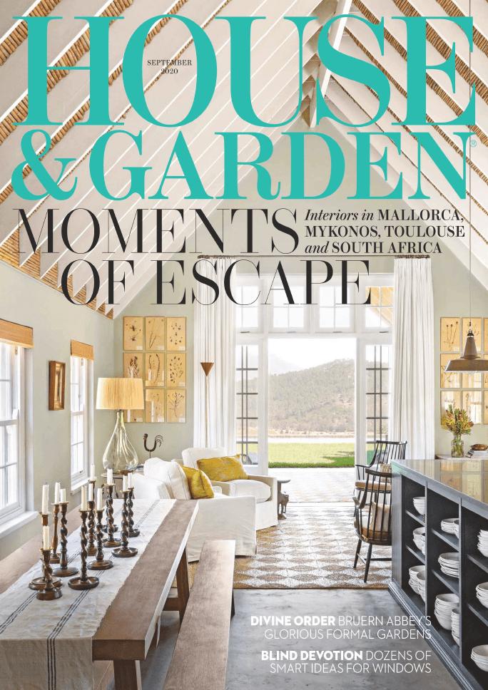 House Garden UK September 2020 cover