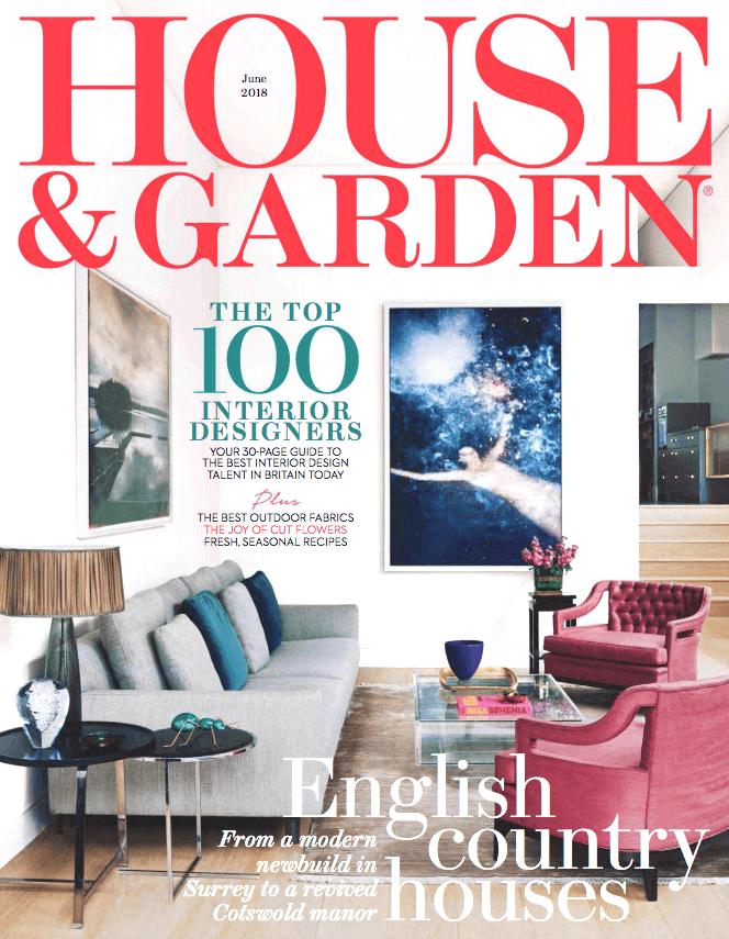 House Amp Amp Garden Uk  June 2018 Cover