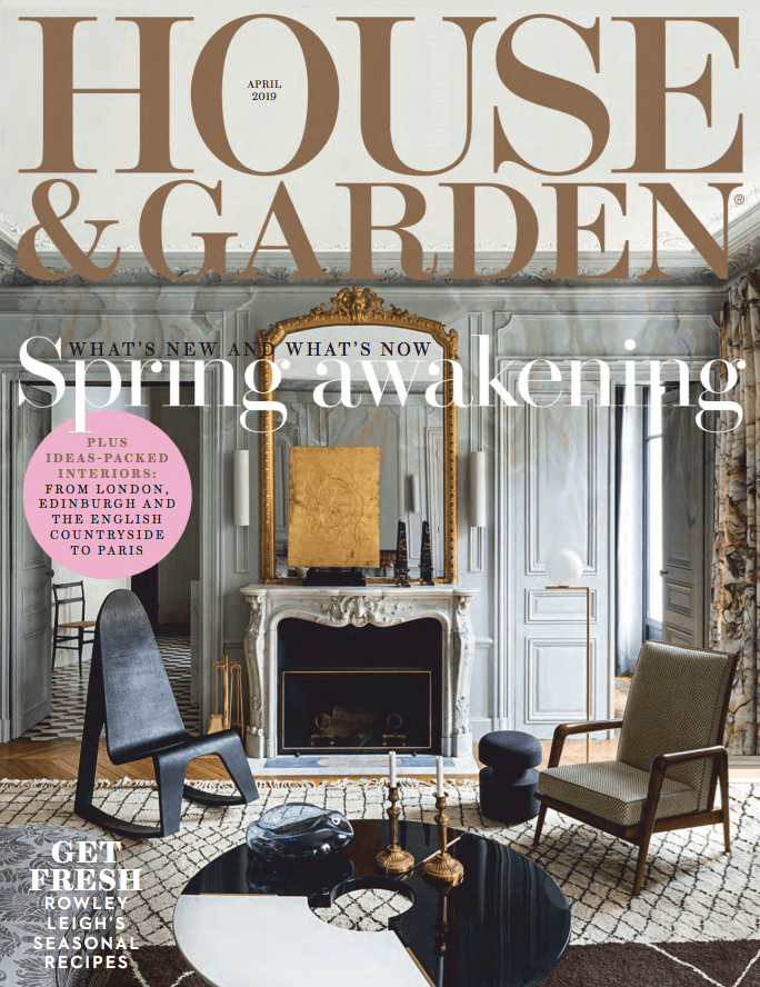 House And Garden Uk 04 2019 Cover