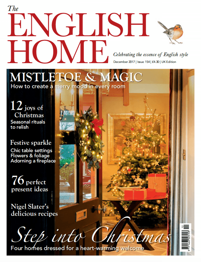 The English Home December 2017 Cover