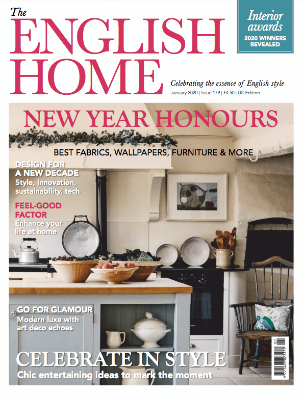 The English Home  January 2020 Cover