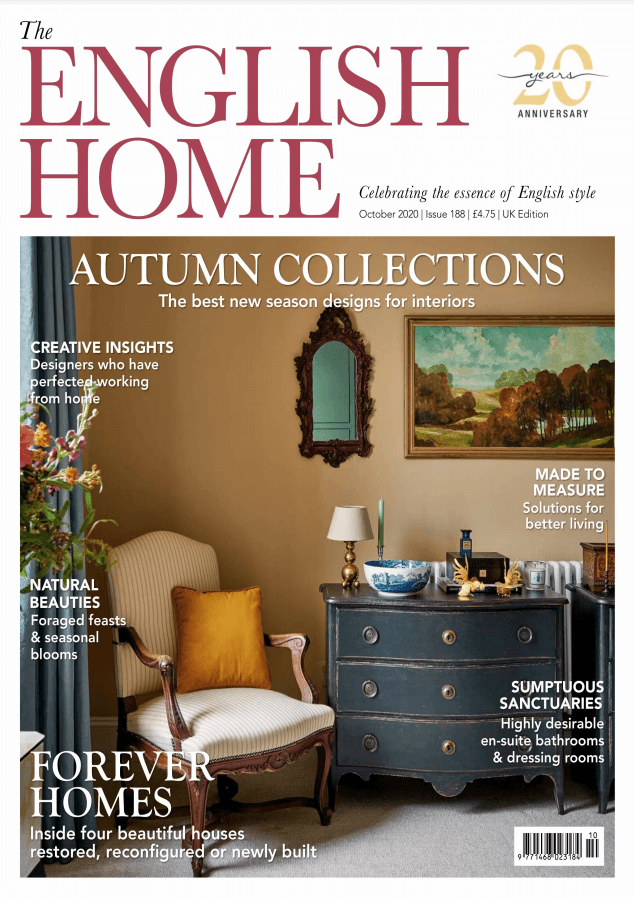 The English Home October 2020 cover