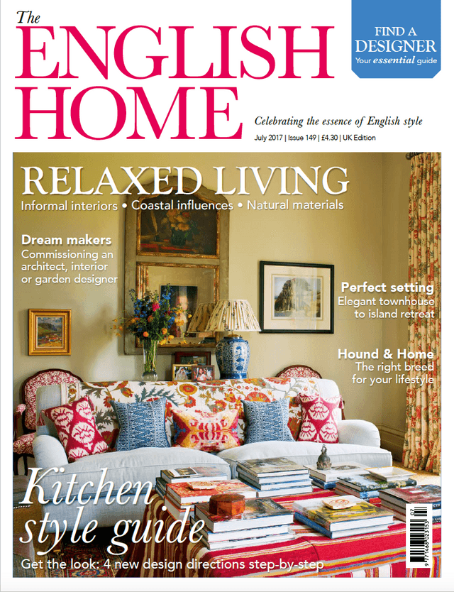 The English Home July 2017 Cover
