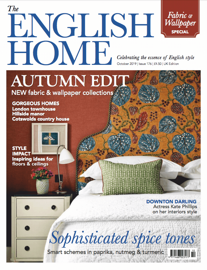 The English Home October 2019 Cover