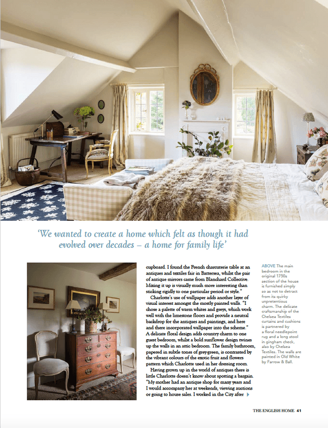 The English Home  Issue 152  October 2017 41
