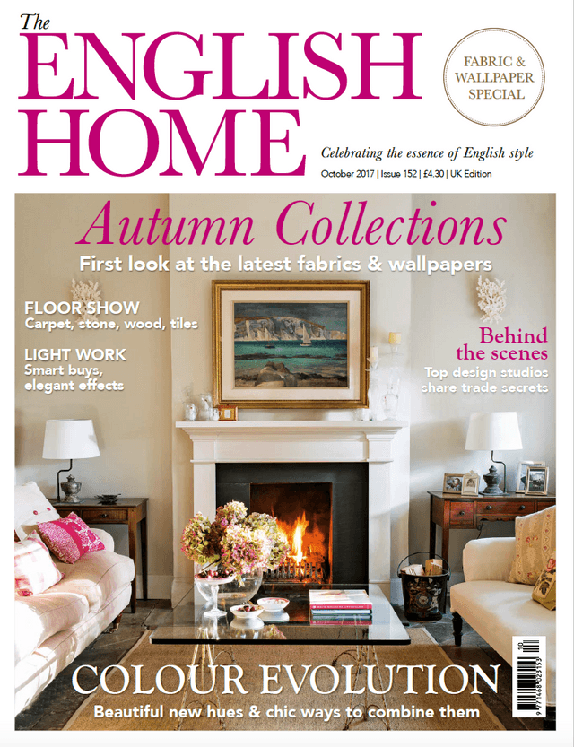 The English Home  Issue 152  October 2017 Cover