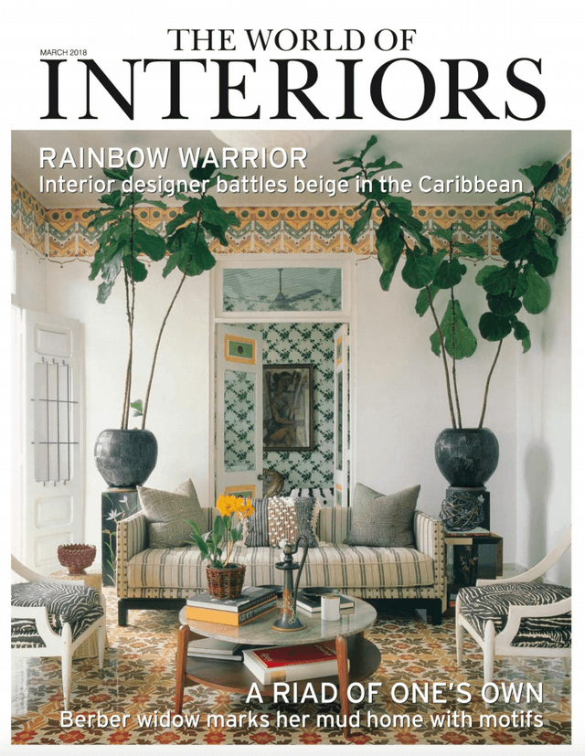 The World Of Interiors  March 2018 Cover