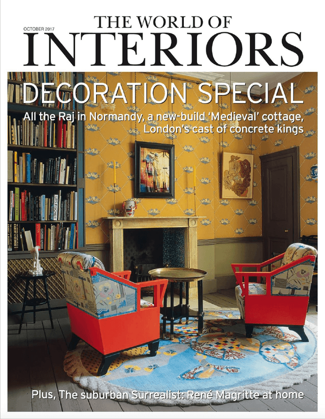 The World Of Interiors  October 2017 Cover