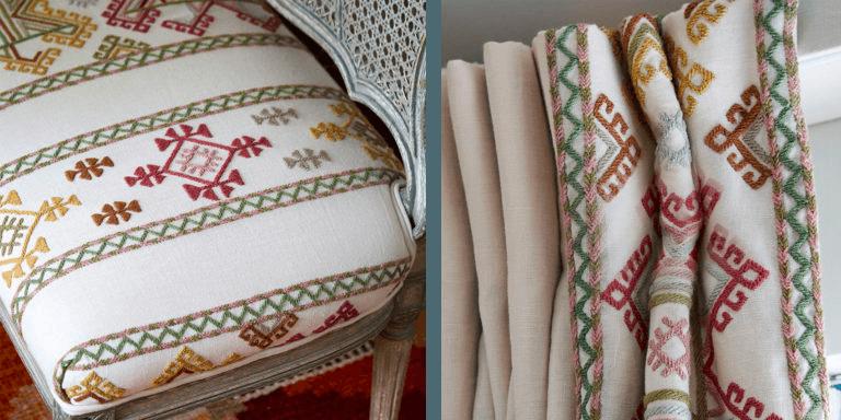 Ashenwood Kit Kemp Bench Curtain Chelsea Textiles