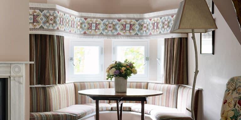 Ashenwood Kit Kemp Pelmet Bay Window Chelsea Textiles