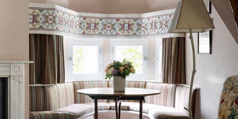Ashenwood Kit Kemp Pelmet Bay Window Chelsea Textiles