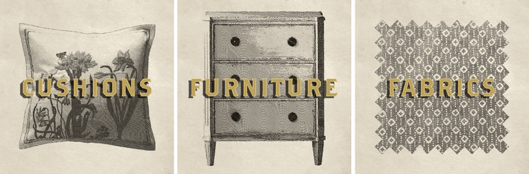 Emporium Cushions Furniture Fabric Cheslea Textiles