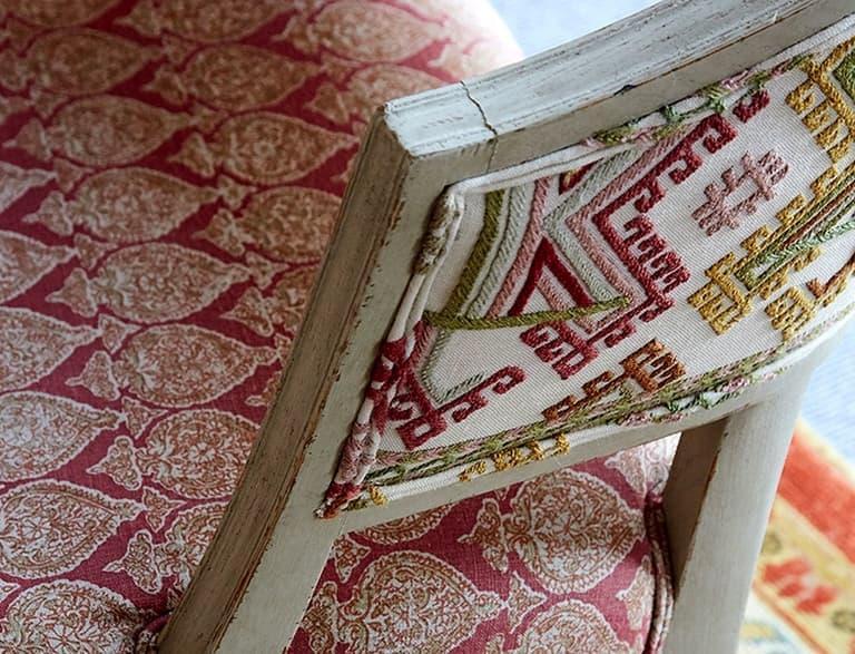 Kit Kemp Ashenwood Chair Chelsea Textiles