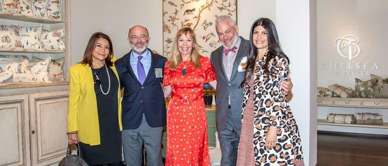 Chelsea Textiles Mona Perlhagen Mark Williams Kit Kemp George Cameron Nash Jenny Simpson