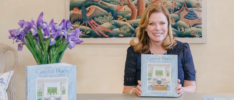 Coastal Blues Book Launch Chelsea Textiles Phoebe Howard