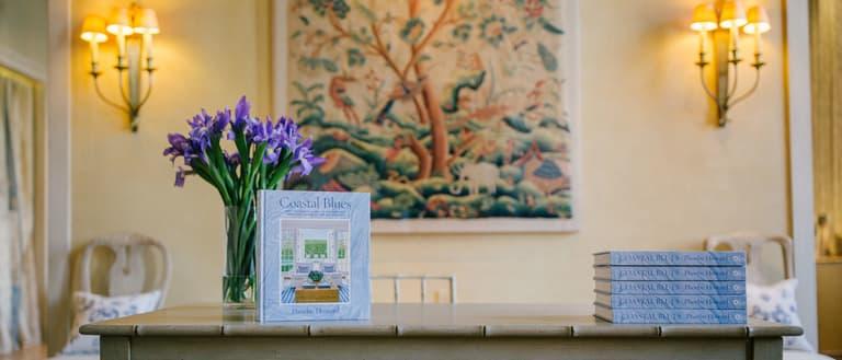 Coastal Blues Phoebe Howard Book Launch Chelse Textiles