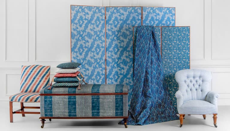 Robert Kime Tory Burch Nara Collection Chelsea Textiles