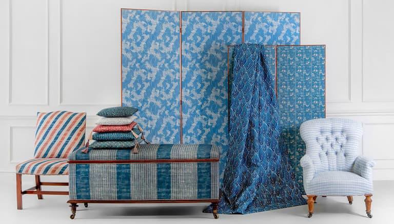 Robert Kime Tory Burch Nara Collection Chelsea Textiles