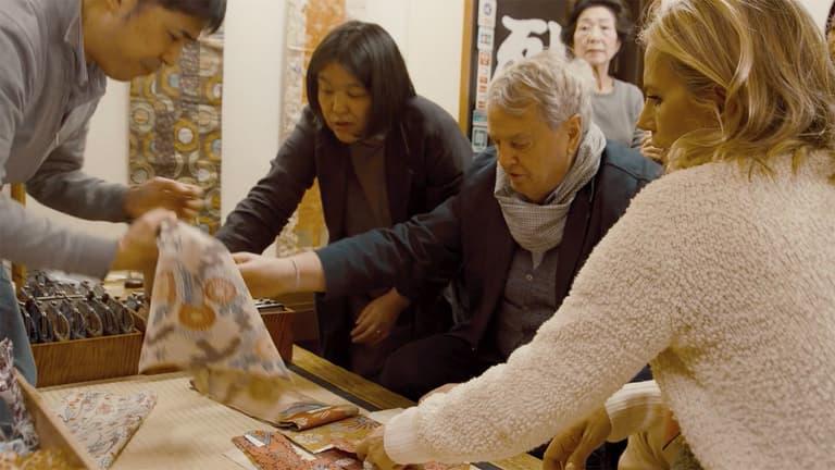 Robert Kime Tory Burch Nara Collection Japan Chelsea Textiles