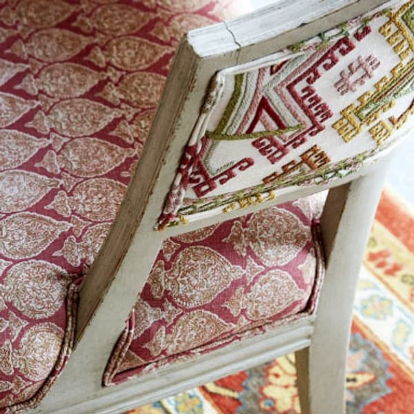 Ashenwood in autumn by Kit Kemp for Chelsea Textiles Whitby chair – Ashenwood in autumn