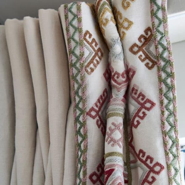 Ashenwood in autumn by Kit Kemp for Chelsea Textiles curtain – Ashenwood in autumn