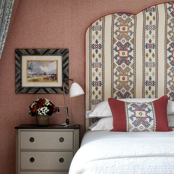 Ashenwood in spring by Kit Kemp for Chelsea Textiles headboard – Ashenwood in spring