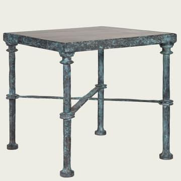 Cast bronze sofa table