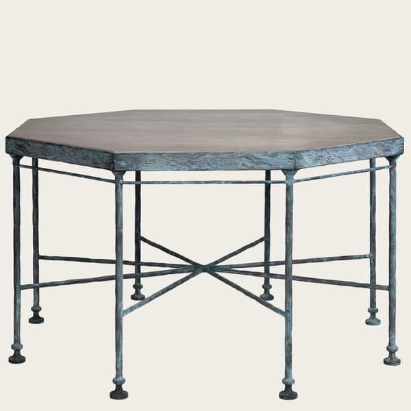 Bronze Table small 01 – Octagonal table