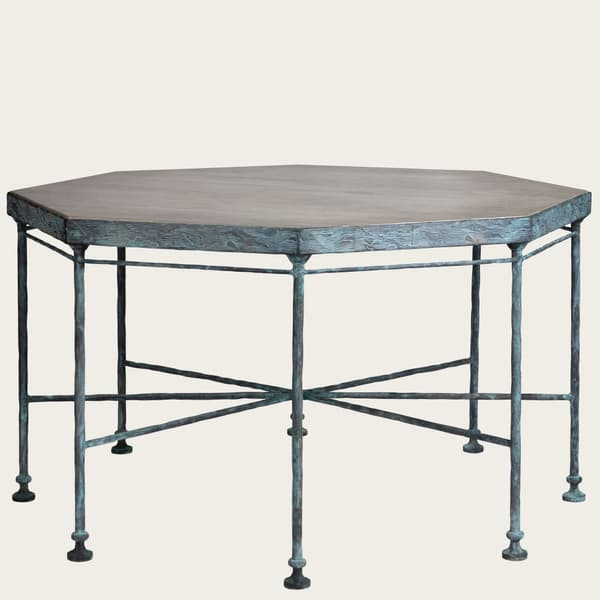 Bronze Table small 02 – Octagonal table