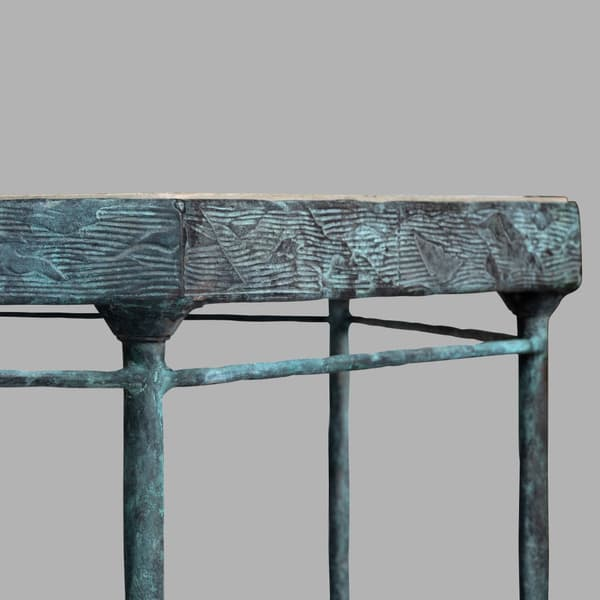 Bronze Table small 06 – Octagonal table