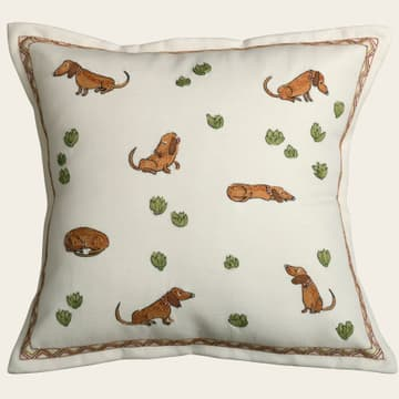 Dachshunds & cabbages
