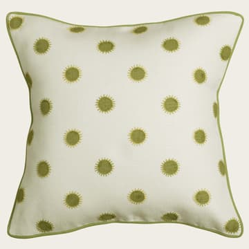Dots in lime with sun in lime/gold