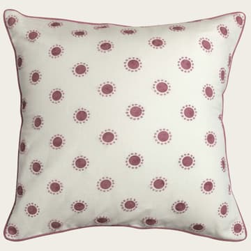 Dots in pink with french knots in pink