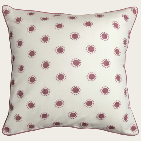 Cp3406 P – Dots in pink with french knots in pink