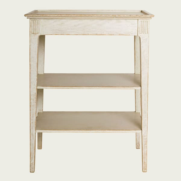 ENG081 5 – Side table with shelves