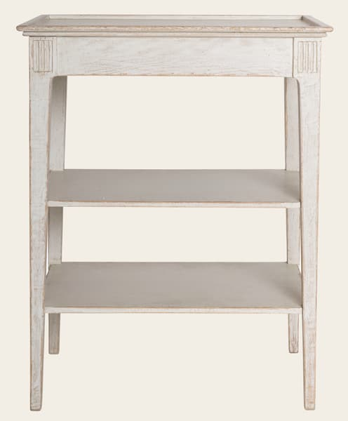 Eng081 8 – Side table with shelves