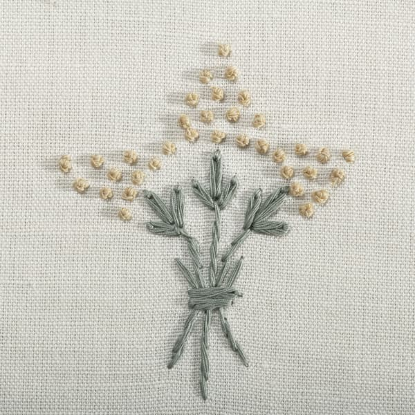 F057 FY Detail1 – Wisteria in faded yellow