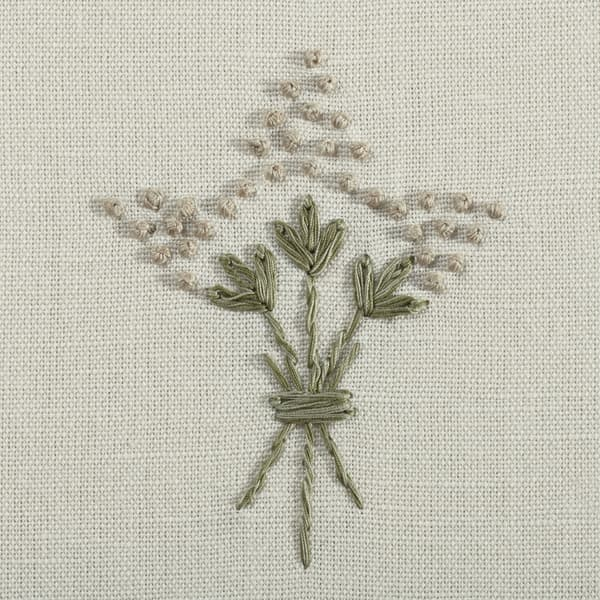 F057 SA Detail1 – Wisteria in sand