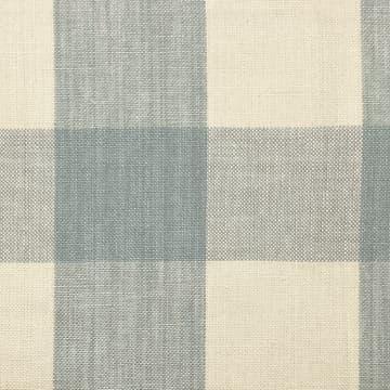 Linen Check Large Blue