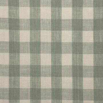 Linen Check Small Seafoam