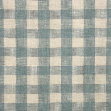 Linen Check Small Blue