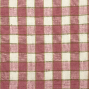 Small Check Pink with Accent