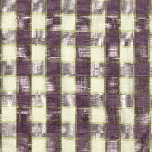 Fc475 – Small Check Mauve with Accent