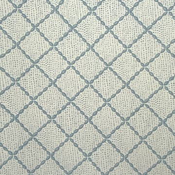 Trellis in antique blue
