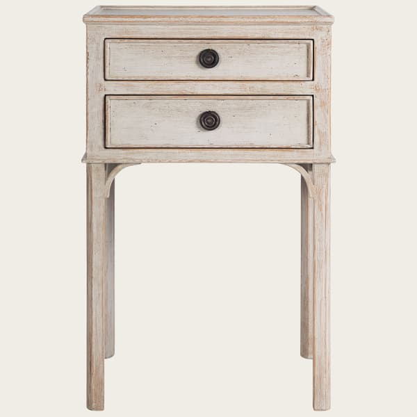 GUS031 08 – Bedside table with two drawers