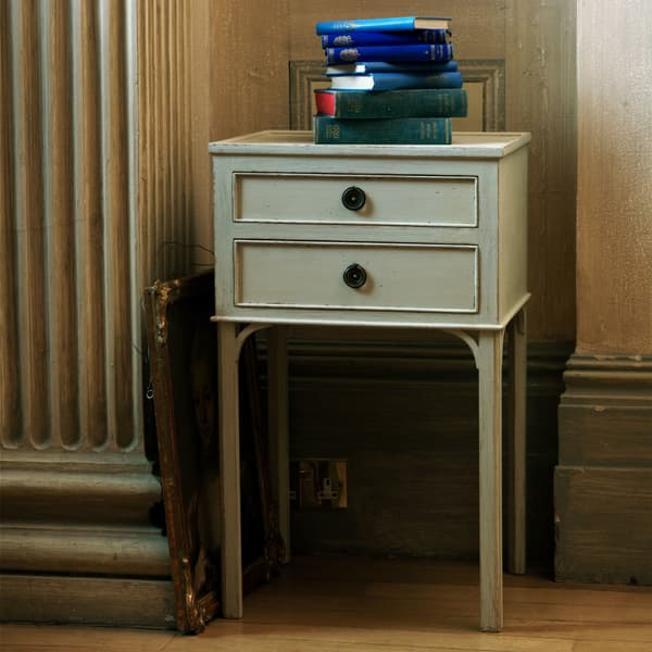 GUS031 5 L – Bedside table with two drawers