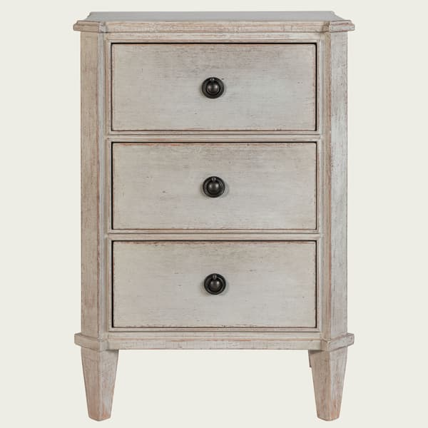 GUS036 SP 08 – Bedside table with three drawers w/ no fluting