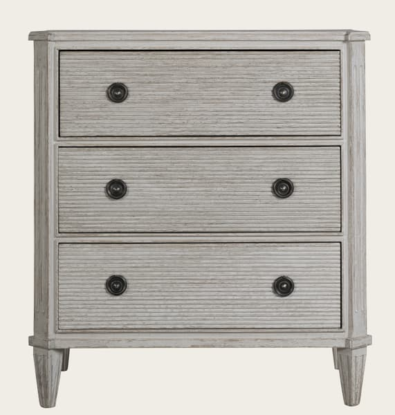 Gus043 A 08 – Bureau with ribbed drawers