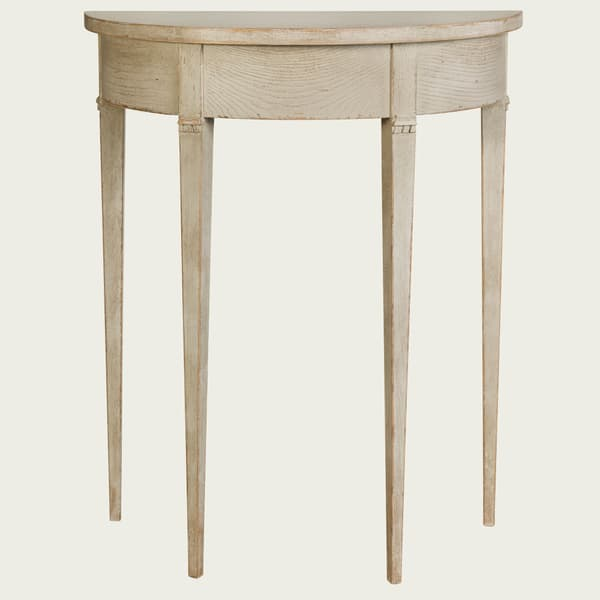 GUS051 SP 08 – Small demi-lune table w/ no drawer