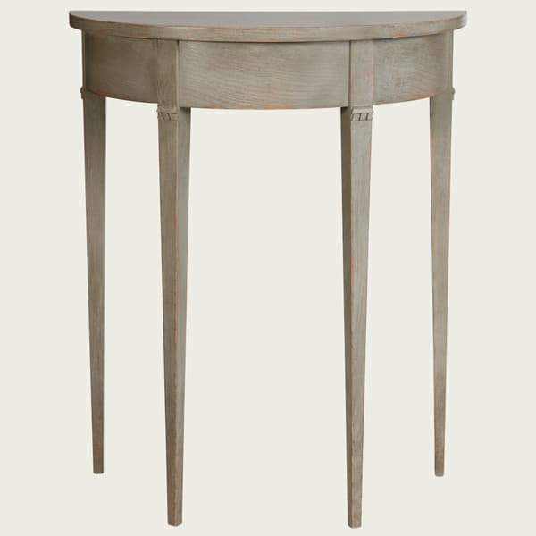 GUS051 SP 10 – Small demi-lune table w/ no drawer